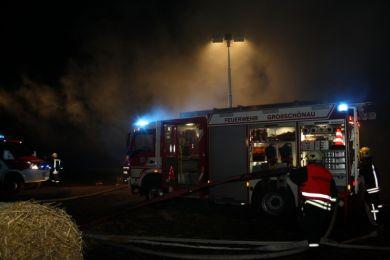 Brandeinsatz Waltersdorf 10-11-2010 Bild 11