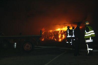 Brandeinsatz Waltersdorf 10-11-2010 Bild 24