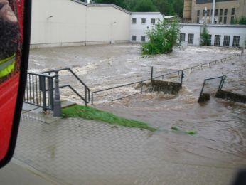 Hochwasser August 2010 Bild 102