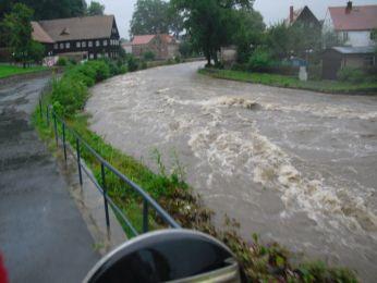 Hochwasser August 2010 Bild 18