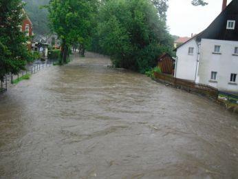 Hochwasser August 2010 Bild 26