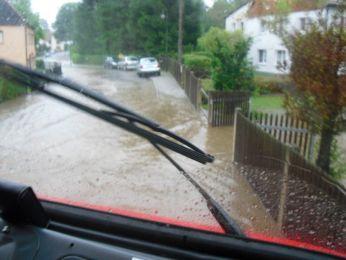 Hochwasser August 2010 Bild 2