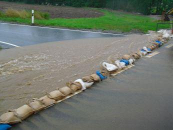 Hochwasser August 2010 Bild 36
