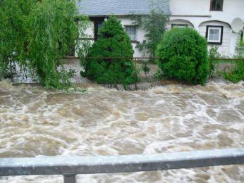 Hochwasser August 2010 Bild 44