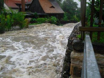 Hochwasser August 2010 Bild 45