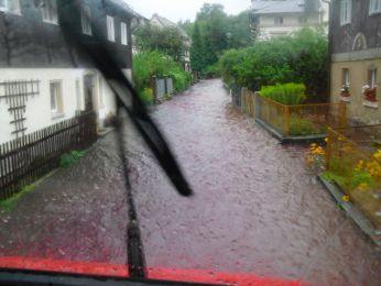 Hochwasser August 2010 Bild 49