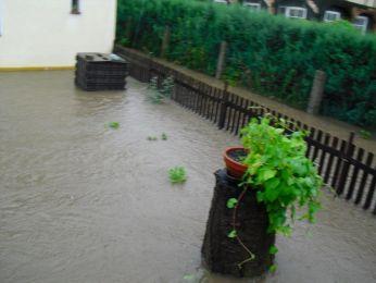 Hochwasser August 2010 Bild 52