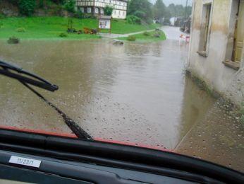 Hochwasser August 2010 Bild 57
