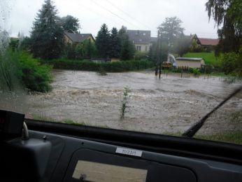 Hochwasser August 2010 Bild 64