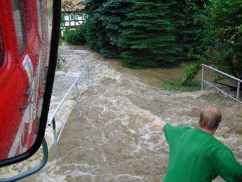 Hochwasser August 2010 Bild 75