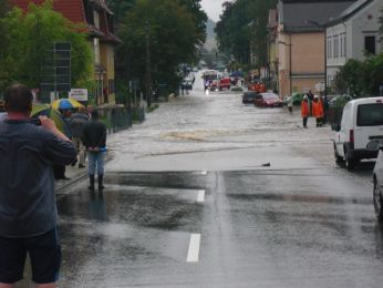 Hochwasser August 2010 Bild 76