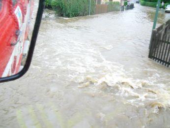 Hochwasser August 2010 Bild 83