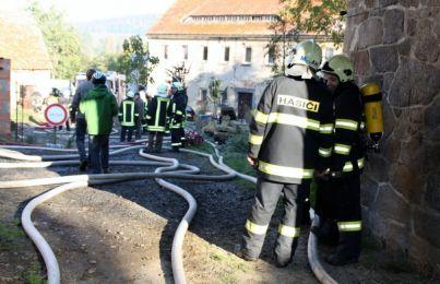 Einsatzuebung Hainewalde 17-10-2010 Bild 11