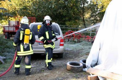 Einsatzuebung Hainewalde 17-10-2010 Bild 26