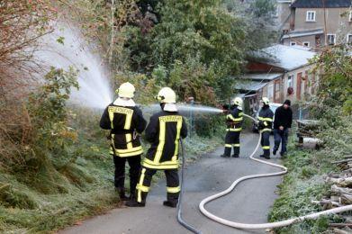 Einsatzuebung Hainewalde 17-10-2010 Bild 35
