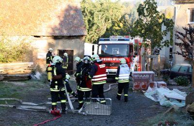 Übungen der Feuerwehr