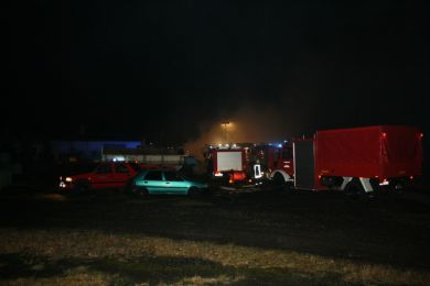 Brandeinsatz Waltersdorf 10-11-2010 Bild 3