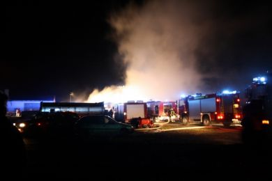 Brandeinsatz Waltersdorf 10-11-2010 Bild 4
